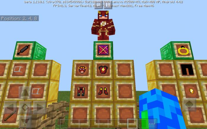 The Flash Addon (v7) adding enemies | Minecraft PE Mods & Addons