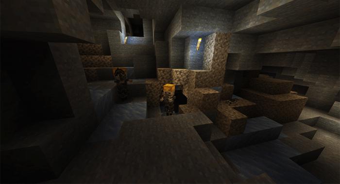 Cave Update Add-on   Minecraft PE Mods & Addons