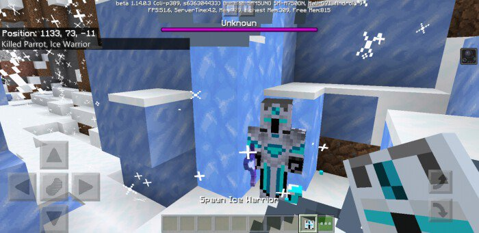 Ice Warrior Boss Addon Minecraft Pe Mods Addons I tried the fire crystal thinking they'd melt, i tried bombing several times, but nothing, any tips please? ice warrior boss addon minecraft pe