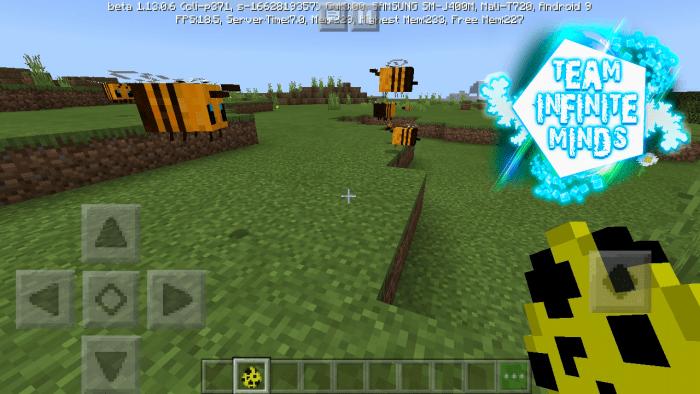 Bee Addon Minecraft Pe Mods Addons