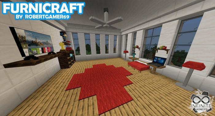 Furnicraft Addon Minecraft Pe Mods Amp Addons