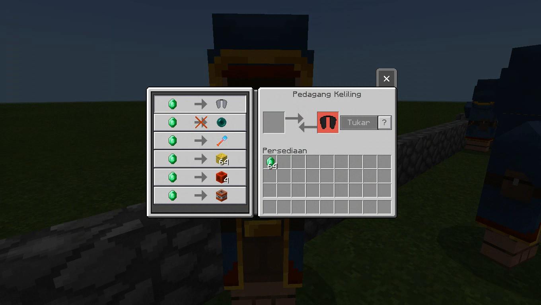 OP} Useful Wandering Trader Add-on  Minecraft PE Mods & Addons