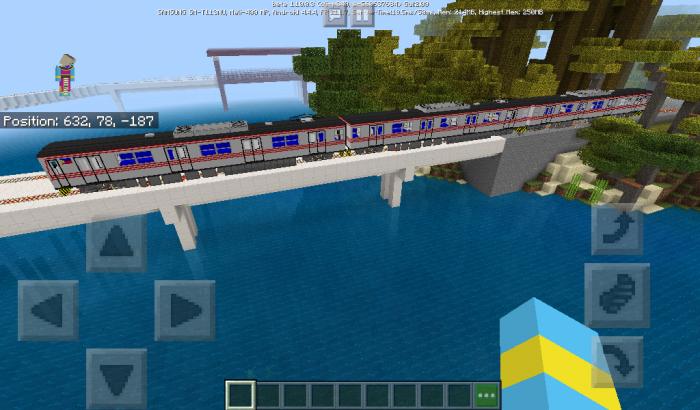 Philippine National Railway Addon | Minecraft PE Mods & Addons