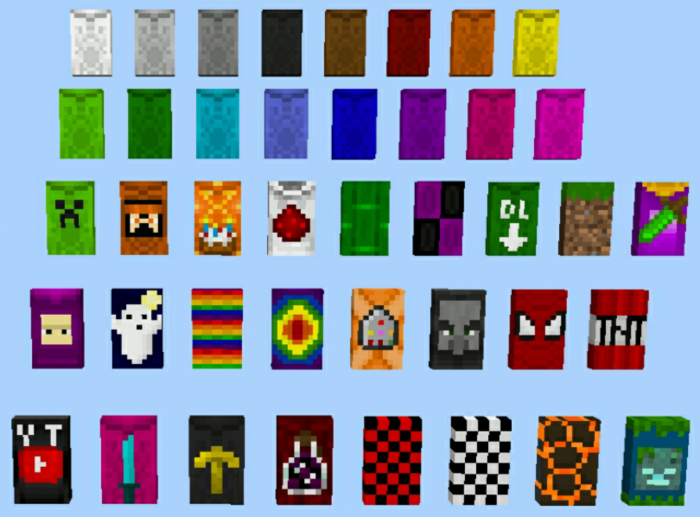 Wearable Cape Banners Addon Minecraft Pe Mods Addons