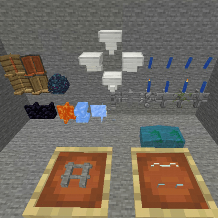 Reshaped Blocks Minecraft Pe Mods Addons Blue ice is a block similar to packed ice , except for its darker shade of blue, and more slippery surface. reshaped blocks minecraft pe mods
