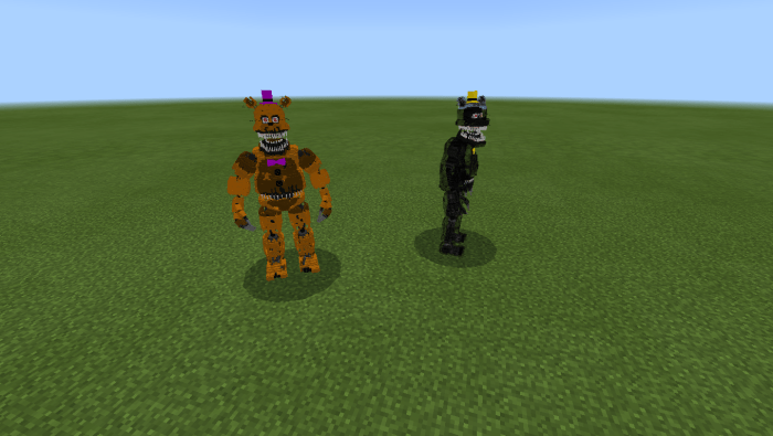 Becoming All Ignited Animatronics In Roblox The Pizzeria Rp Five Nights At Freddy S 4 Beta2 Dany Fox Minecraft Pe Mods Addons