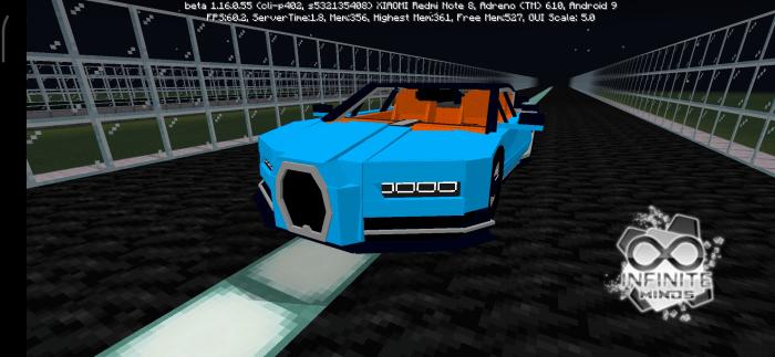 Bugatti Chiron Addon Minecraft Pe Mods Addons