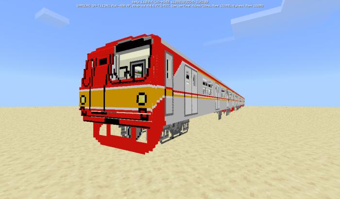 Tokyo Metro 6000 Series (Indonesia) Addon | Minecraft PE