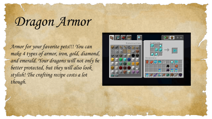 Dragon Mounts 2 Minecraft Pe Mods Addons How can i create dragon armor in aground? dragon mounts 2 minecraft pe mods