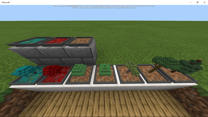 Easy Bonsai Add On Minecraft Pe Mods Addons