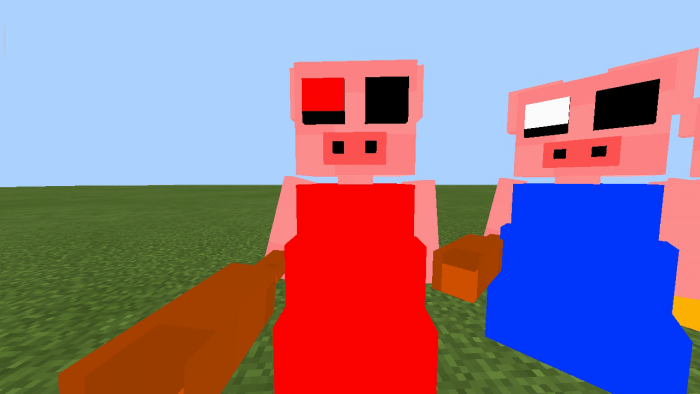 Pictures Of Roblox Piggy Parasee Piggy Addon Quick Update Balancing Update Minecraft Pe Mods