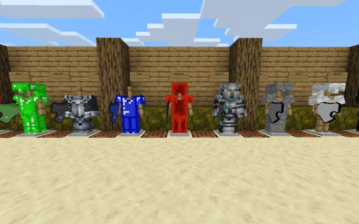 More Armor Minecraft PE Mods Addons