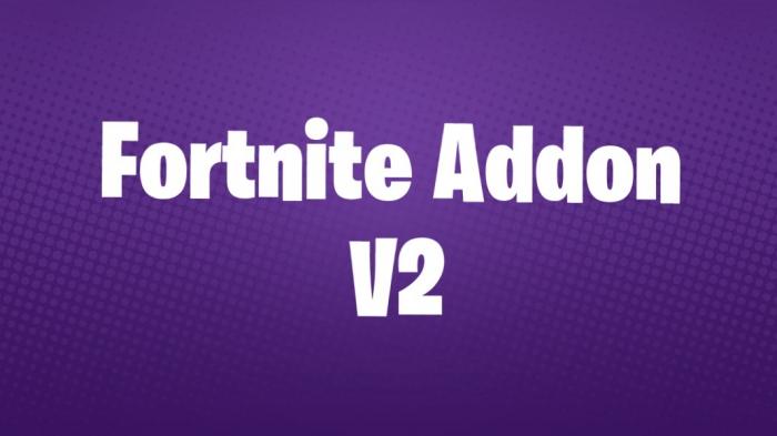 Fortnite Addon V2 | Minecraft PE Mods & Addons
