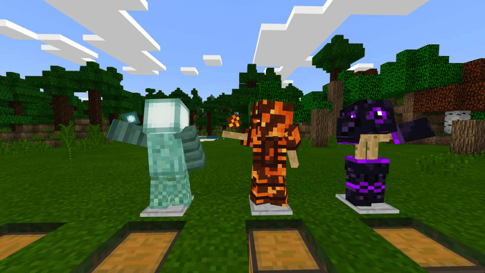 ARMORPLUS Addon (Big Update) Minecraft PE Mods Addons