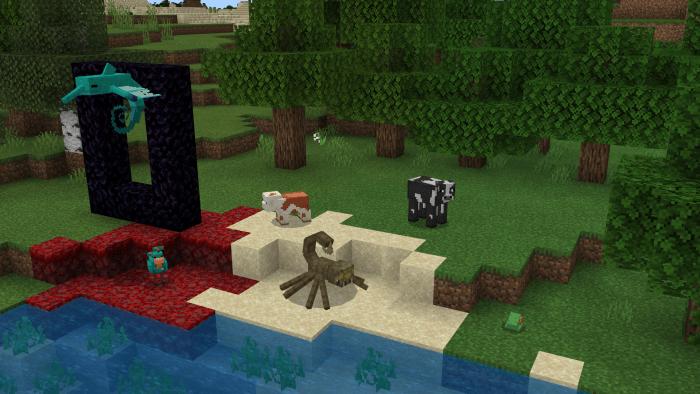 Almost Vanilla (Bugfix Mini update) Minecraft PE Mods Addons