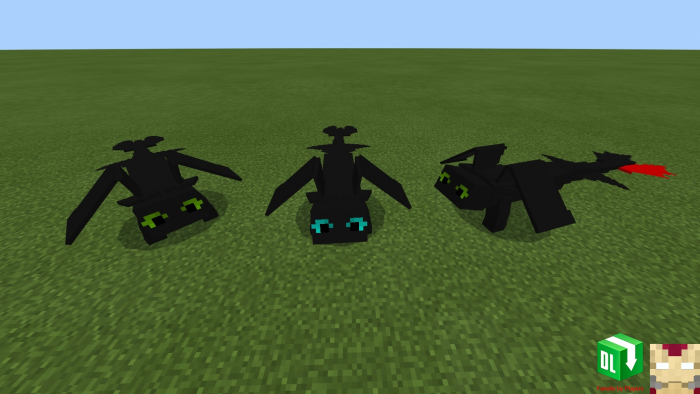 How To Train Your Dragon Add On Minecraft Pe Mods Addons