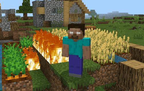 Herobrine Addon Discontinued Minecraft PE Mods Addons