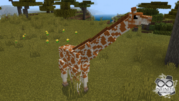 Giraffes Add-on | Minecraft PE Mods & Addons