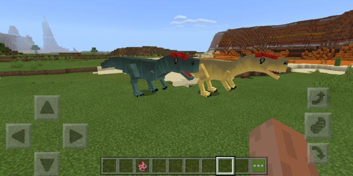 ProjectPrehistoric | BETA v1 1 0 2 [MOD] | Minecraft PE Mods