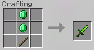 Emerald Items Addon (1 12+) | Minecraft PE Mods & Addons