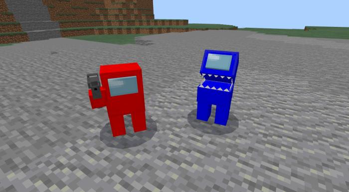 Among Us Add On Skins 4d Beta 1 16 100 60 Minecraft Pe Mods Addons