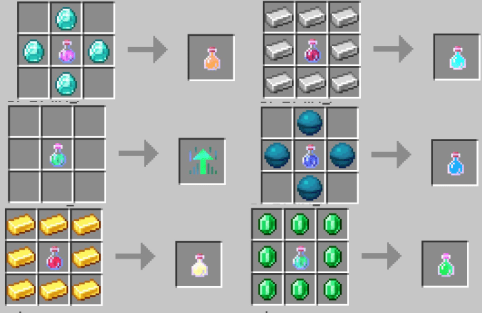 Txy S All Effects Potions A Few More Addon Minecraft Pe Mods Addons