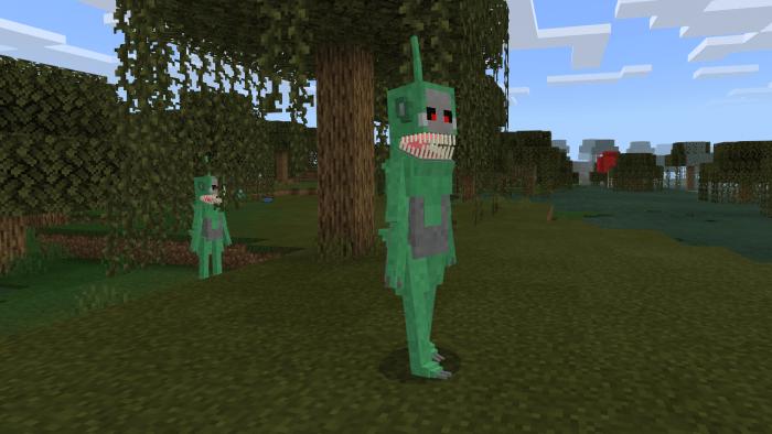 Slendytubbies Add on Minecraft PE Mods Addons