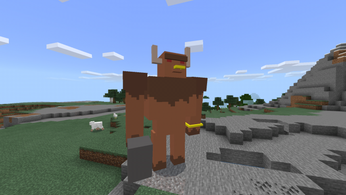 Minotaur Boss Addon Minecraft Pe Mods Addons