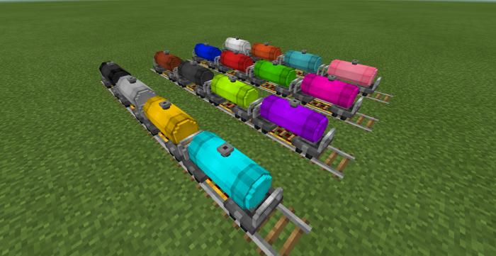 Rail Craft Add-on (1 11 & beta 1 12 0 9+) | Minecraft PE