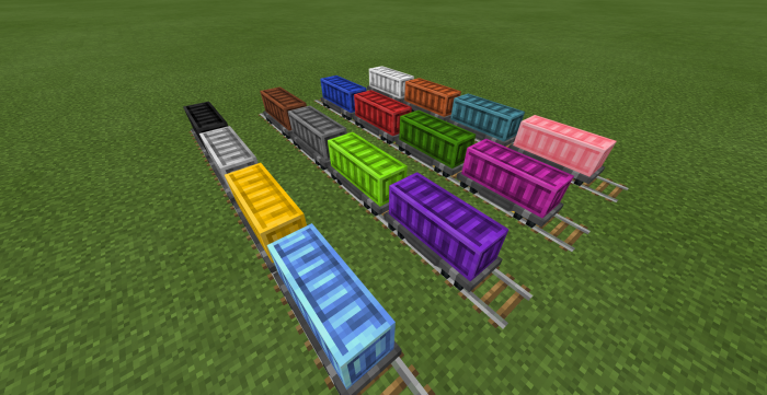 Rail Craft Add-on (1 11 & beta 1 12 0 9+) | Minecraft PE Mods & Addons