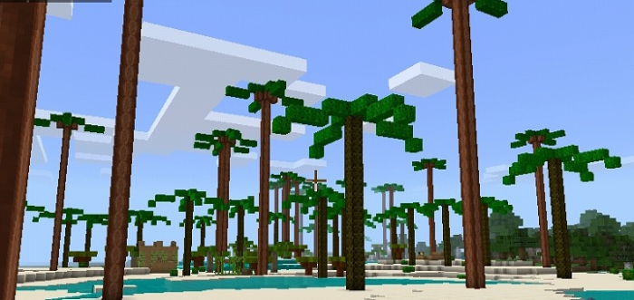 TropicalBeach Addon Minecraft Pocket Edition/Bedrock – Minecraft