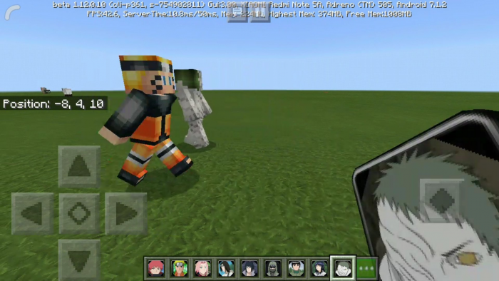 Naruto Minecraft Addon (1 13 0 9 ) Minecraft PE Mods Addons