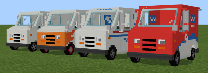 Grumman LLV Addon – NEW DE-BUFFED VERSION | Minecraft PE