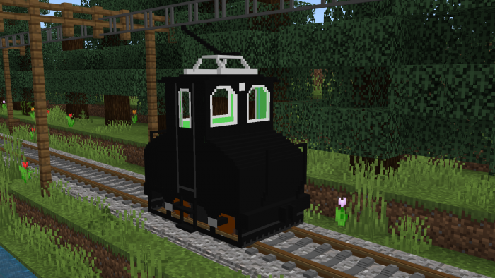 Real Train Addon | Minecraft PE Mods & Addons