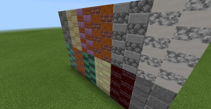 Hybrid Slabs Add On 1 12 Minecraft Pe Mods Addons
