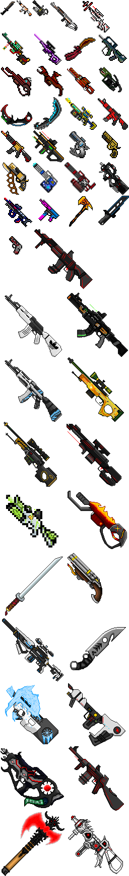 Actual Guns 2d V2 8 The Perfect Update Minecraft Pe Mods Addons