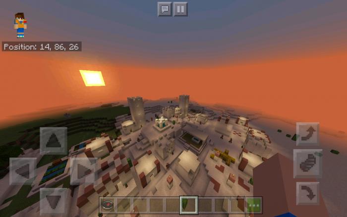 Desert Village at Spawn Seed [1 11] | Minecraft PE Seeds