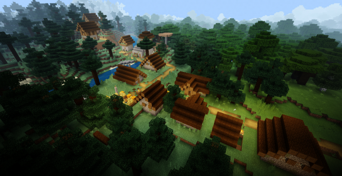 Taiga Village Outpost Jungle Swamp Witch Hut And 3