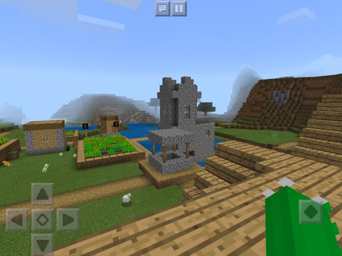 213506630 Spawn On Village House Rooftop Seed Minecraft Pe Seeds