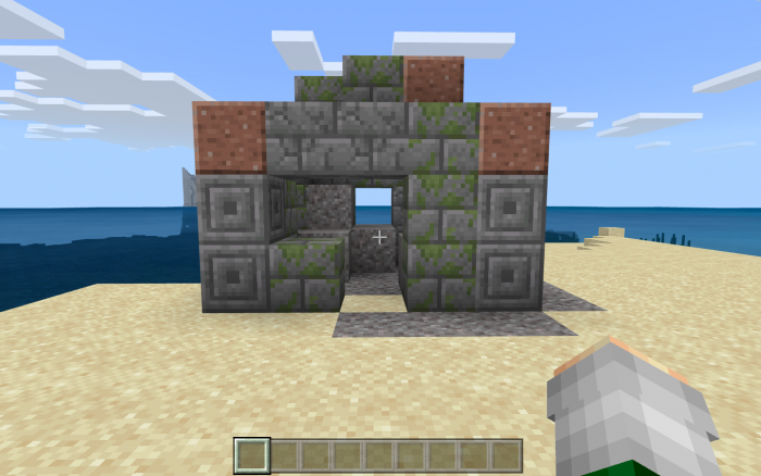 Ocean Ruin Right At Spawn Seed | Minecraft PE Seeds