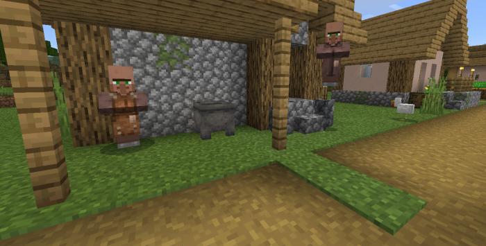 578939393: Plain Village At Spawn Seed (1 12+) | Minecraft