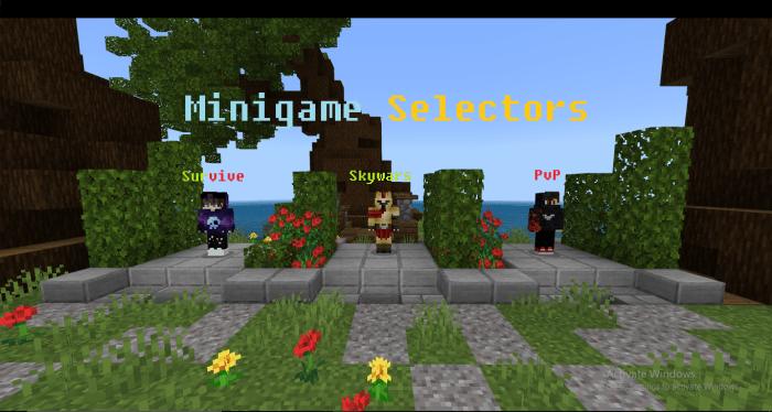 MCPE/Bedrock TheBlueGames Minecraft Bedrock Servers