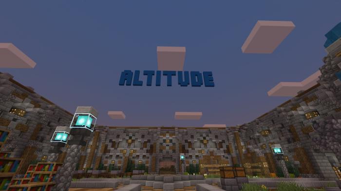 Altitude SMP – A Survival Multiplayer Server for Bedrock