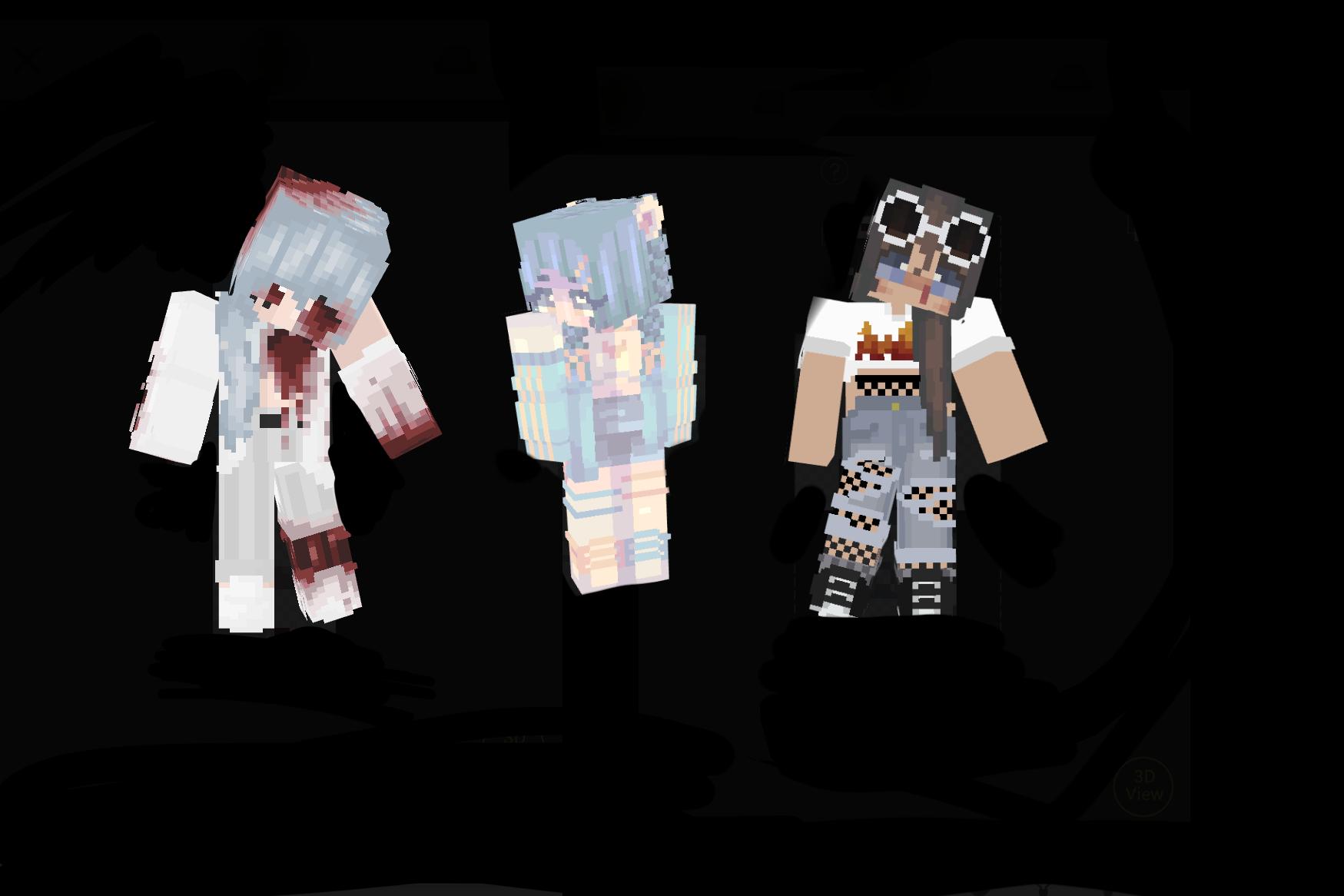 Cute Girls HD Skin Pack  Minecraft Skin Packs