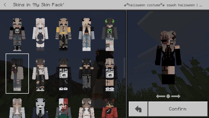 Aesthetic Skin Pack Male Female Minecraft Skin Packs
