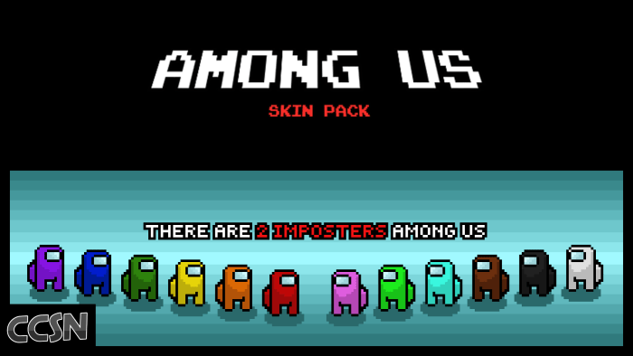 Ccsn S Among Us V1 1 Holiday Update Minecraft Skin Packs