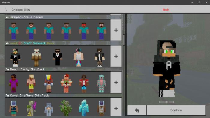DS : Staff Skinpack [Updated] | Minecraft Skin Packs
