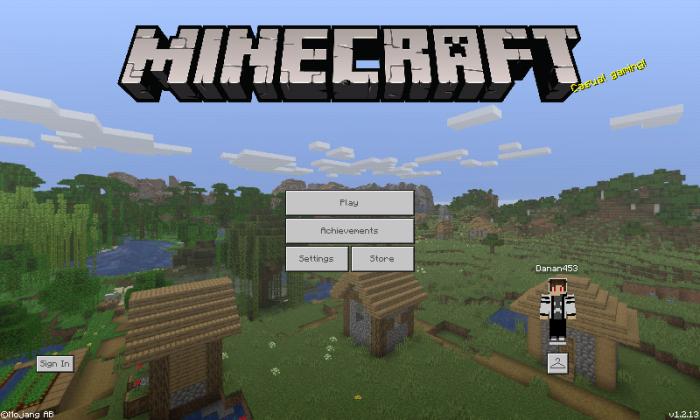 Java 1 14 Panorama | Minecraft PE Texture Packs