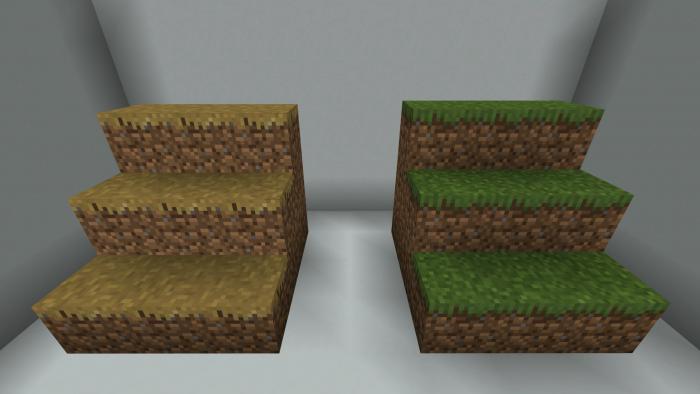 BetterGrass x8 x16 x32 x64 x128 | Minecraft PE Texture Packs