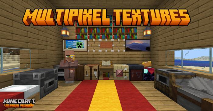 MultiPixel Texture Pack | Minecraft PE Texture Packs